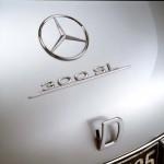 Mercedes-Benz 300 SL Coupe Gullwing W194 Schriftzug