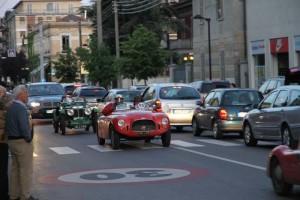 Mille Miglia 2010 - Durchfahrt Parma
