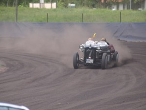 Berlin Classic 2010 - Speedway Wolfslake - Austin Seven Drift