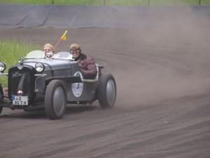 Berlin Classic 2010 - Speedway Wolfslake - Spass mit dem Austin Seven