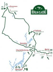 Streckenplan Berlin Classic 2010