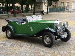 Railton Straight Eight Classic Racing Car