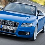 Audi S5 Cabriolet Bergfahrt