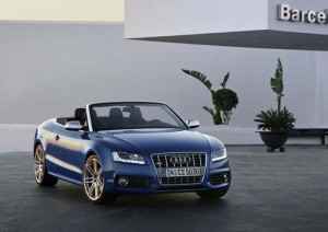 Audi S5 Cabriolet - Blau
