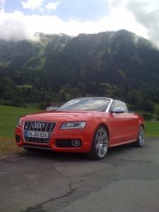 Audi S5 Cabriolet Testwagen