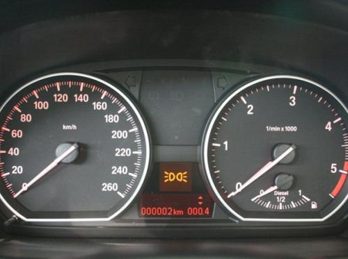 Instrumente BMW 1er Cabriolet