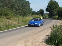 VW Golf 3 Cabrio Jazz Blue - Mariä Himmelfahrt Kraftwagen e.V. Ausfahrt 2010