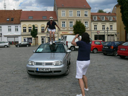 VW Golf Cabrio Sonderpruefung - Mariä Himmelfahrt Kraftwagen e.V. Ausfahrt 2010